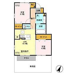 仮)D-room永国I[1階]の間取り