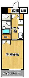 柴田ビル[4階]の間取り