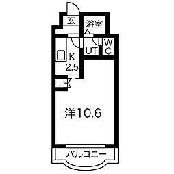 パークアベニュー札幌[7階]の間取り