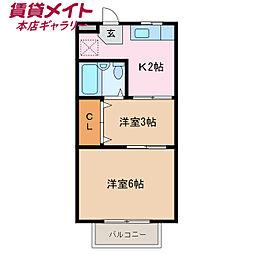 海山道駅 3.2万円