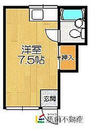 アパートメント12[2階]の間取り