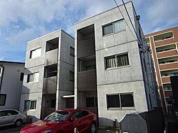 長野県長野市大字栗田の賃貸アパートの外観