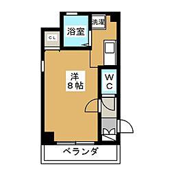 フェニックス堀川II[7階]の間取り