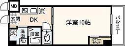 庚午サエキビル[3階]の間取り