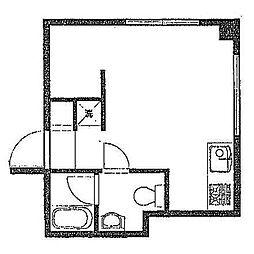 エムキューブ[6階]の間取り