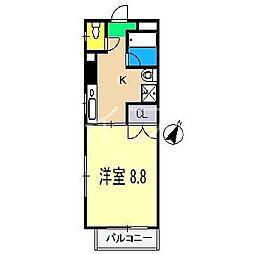 ルーチェ[3階]の間取り