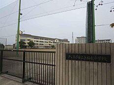 八王子市立上柚木中学校(1023m)