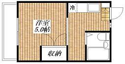 サンハイム太田[1階]の間取り