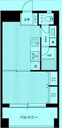 パテラ宮崎台[2階]の間取り