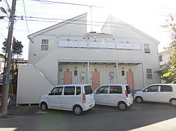 千葉県千葉市若葉区若松台1丁目の賃貸アパートの外観