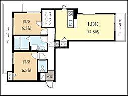(仮称)シャーメゾン久御山[2階]の間取り