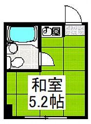 アートフル一ツ橋[2階]の間取り