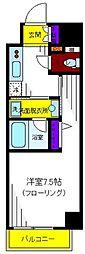 東京都立川市錦町1丁目の賃貸マンションの間取り