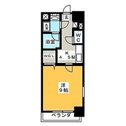 J・COURT・KAMIMAEZU[4階]の間取り
