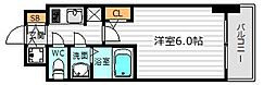 S-RESIDENCE南堀江[12階]の間取り