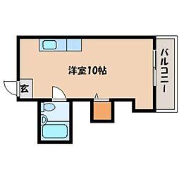 北海道札幌市北区北十二条西3丁目の賃貸マンションの間取り