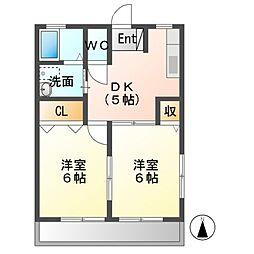 TNハイム[2階]の間取り