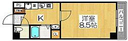 プリヴェ2号館[3階]の間取り