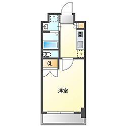 No.111  ORIENT TRADING TOWER 11階1Kの間取り