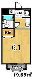 鞍馬口アイビーハウス[312号室]の間取り