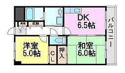 エッセ尼崎南[2階]の間取り