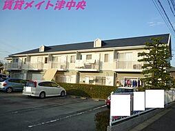 三重県津市渋見町の賃貸アパートの外観