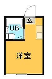 ハイム桜丘[105号室]の間取り