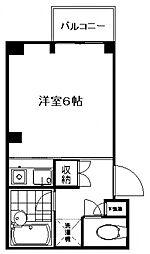 ユニッツ三田[203号室号室]の間取り
