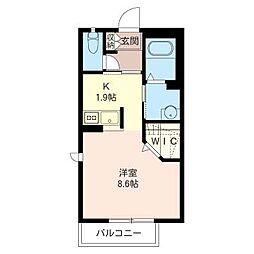 キャロット・ハウス II[1階]の間取り