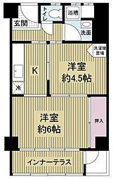 堀江テラス[7階]の間取り