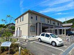 兵庫県姫路市川西台の賃貸アパートの外観