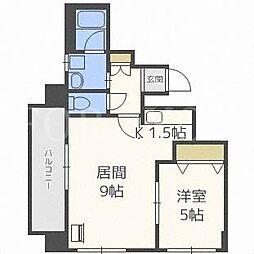 ラフィネ31[2階]の間取り
