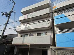 大阪府大阪市東住吉区山坂1丁目の賃貸マンションの外観