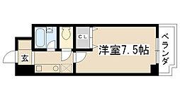 オード夙川[4A号室]の間取り
