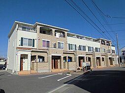 茨城県龍ケ崎市長山3丁目の賃貸アパートの外観