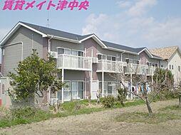 三重県津市芸濃町林の賃貸アパートの外観