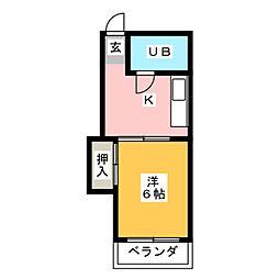 シャトーレノグチ[2階]の間取り