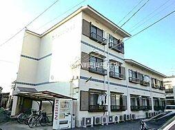 岡山県岡山市北区二日市町の賃貸アパートの外観