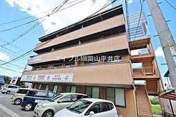 岡山県岡山市中区山崎の賃貸マンションの外観
