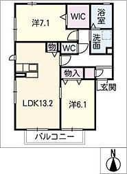 仮)D−room弥生町松原A棟[2階]の間取り