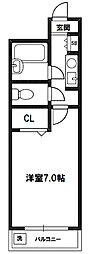 ノルデンハイム相川[8階]の間取り
