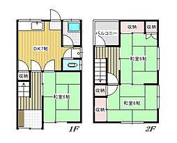 広島県呉市広白岳3丁目の賃貸アパートの間取り