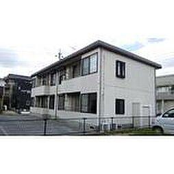 千葉県野田市中野台鹿島町の賃貸アパートの外観