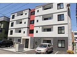 北海道札幌市北区北三十四条西3丁目の賃貸マンションの外観