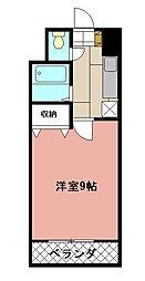 KMマンション八幡駅前[304号室]の間取り