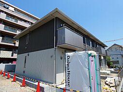 千葉県松戸市常盤平3丁目の賃貸アパートの外観