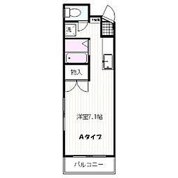 ピアハイツ21[4階]の間取り