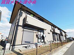 三重県津市栗真小川町の賃貸アパートの外観