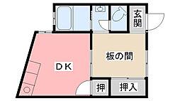 [一戸建] 兵庫県西宮市甲子園四番町 の賃貸【兵庫県 / 西宮市】の間取り