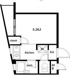 エムハイツ[3階]の間取り